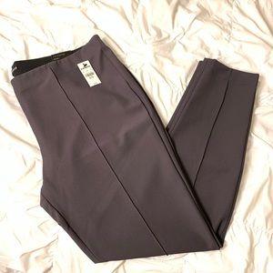 Express Dress Pant leggings (gray)